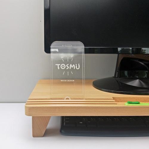 TOSMU 童心木 小綠地螢幕架