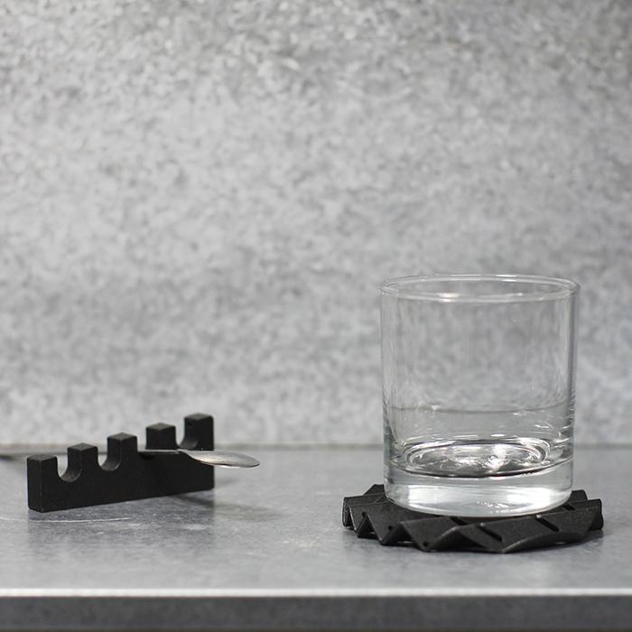 (複製)Hevo|工業幾何筆筒 Hopper 霧黑