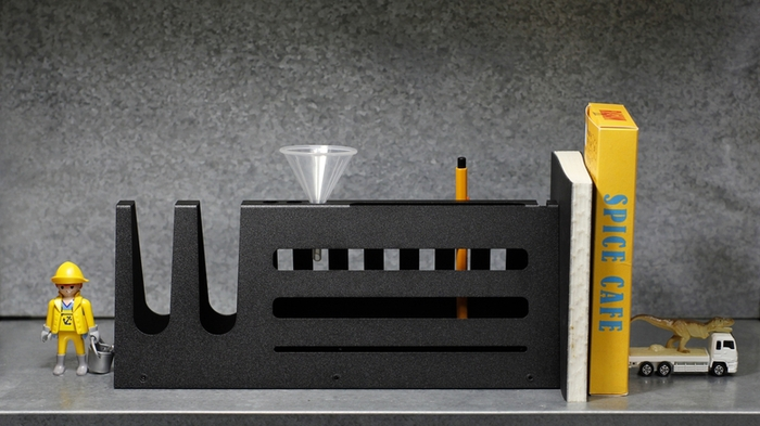 Hevo | 桌上收納座 (大) Desk Organizer L 霧黑