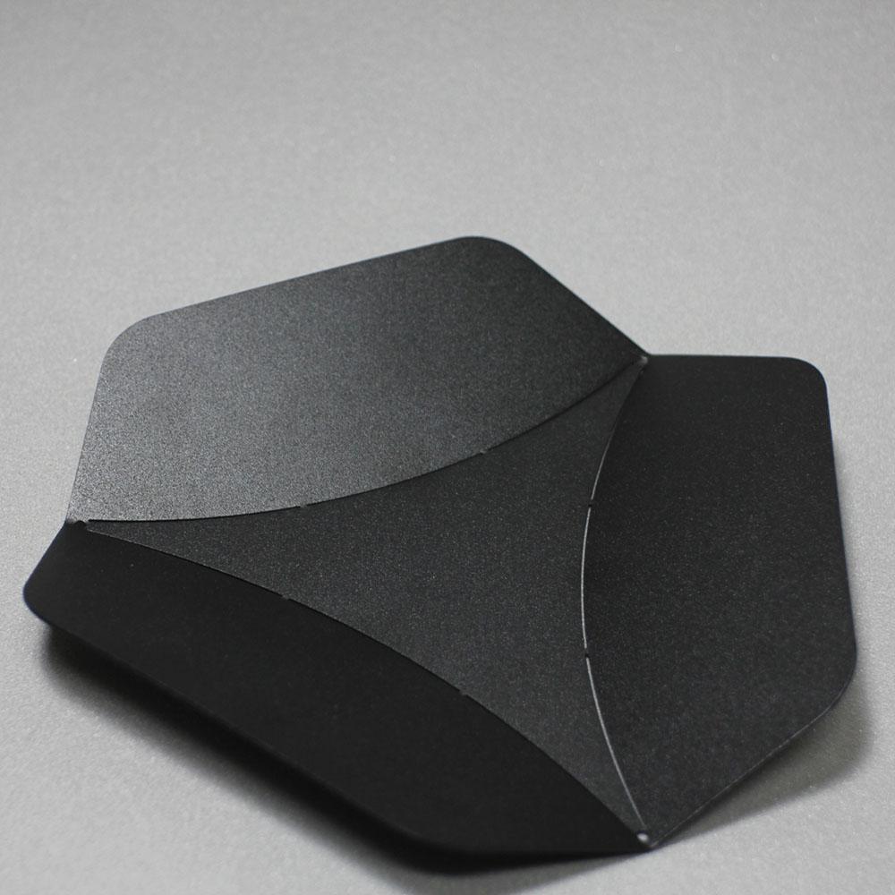 Hevo|六角置物盤 Asterisk 霧黑