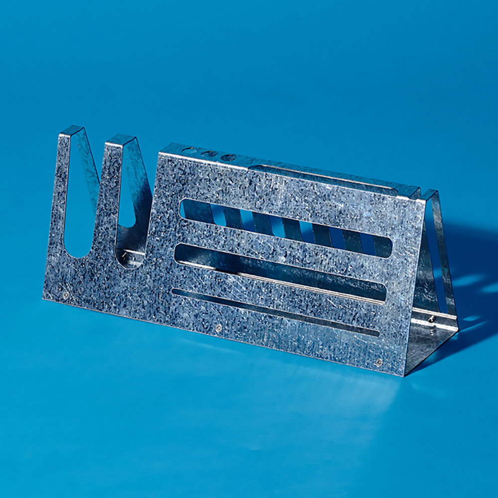 Hevo|桌上收納座 (大) Desk Organizer L 鍍鋅銀