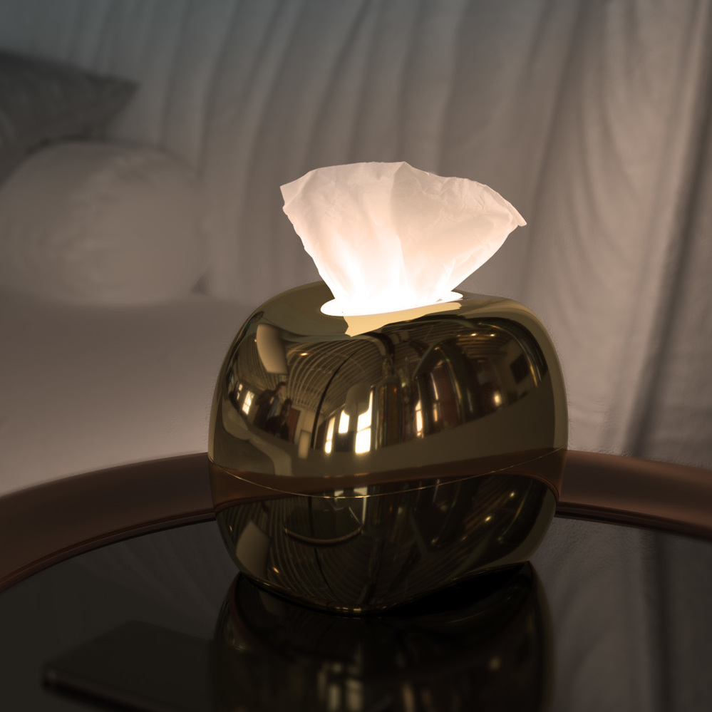 mordeco | MIRRO LED+ 紙影燈(銀)