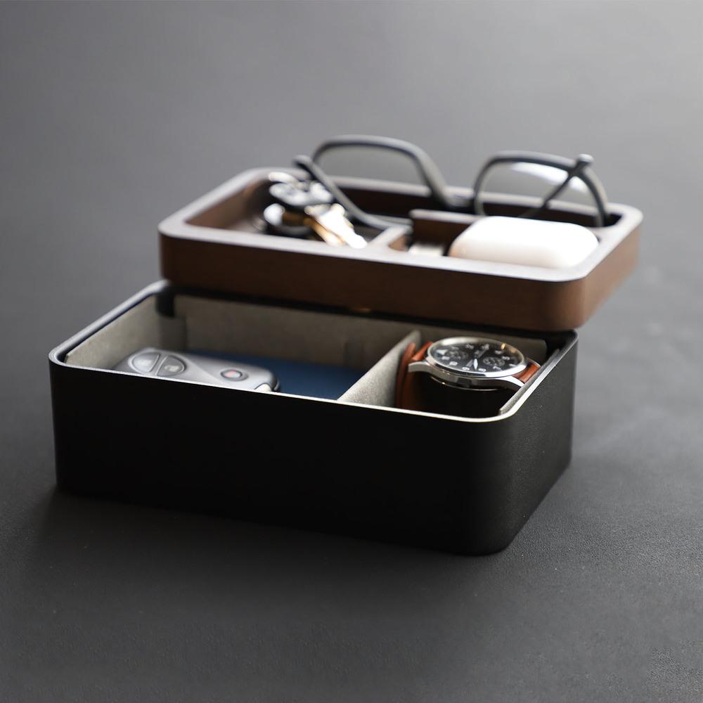 mordeco|轉轉置物盒(隕石黑)