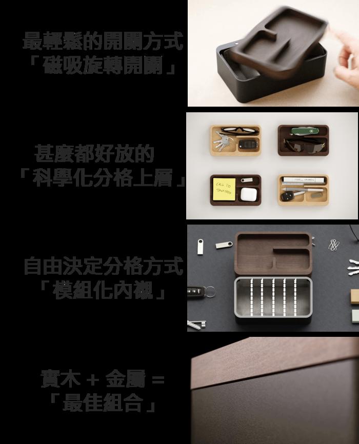 (複製)【集購】mordeco|轉轉置物盒(兩色任選)