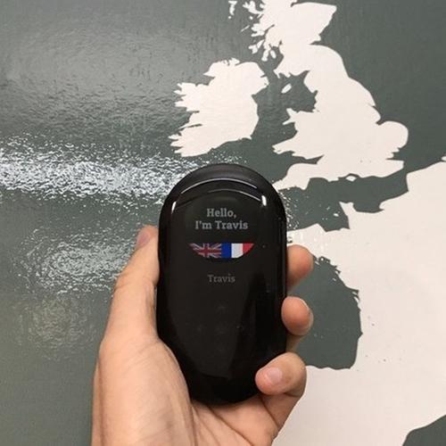 荷蘭Travis 80 種語言AI 雙向翻譯機