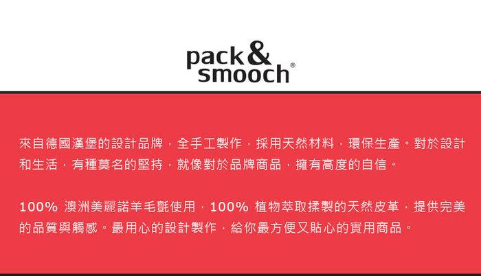 Pack & Smooch|CORBY 羊毛氈真皮托盤(黑灰/深棕)