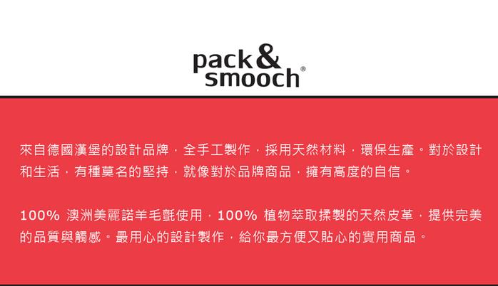 (複製)Pack & Smooch|Keswick 手工製天然羊毛氈皮革卡夾套 (深棕皮革/碳黑羊毛氈)