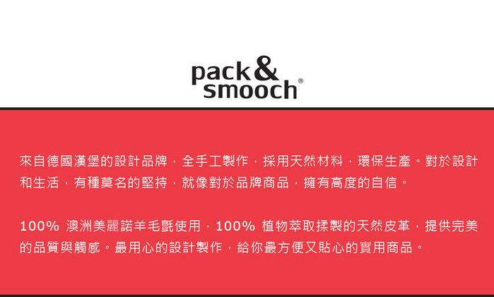 Pack & Smooch|Hampshire iPad Pro 10.5 吋羊毛氈真皮保護袋 (石灰/淺棕)