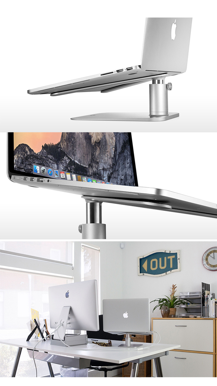 Twelve South|Hirise Stand for MacBook V 型立架 (12-1222/B)