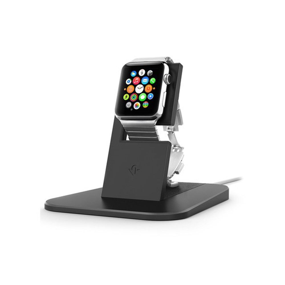 Twelve South│Apple Watch HiRise Stand 蘋果智慧手錶充電立架 - 黑色