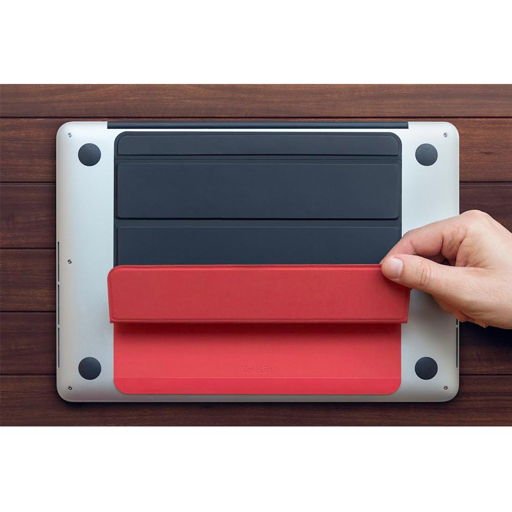 Twelve South│ BaseLift 筆記型電腦智慧貼身立架  (黑紅色)