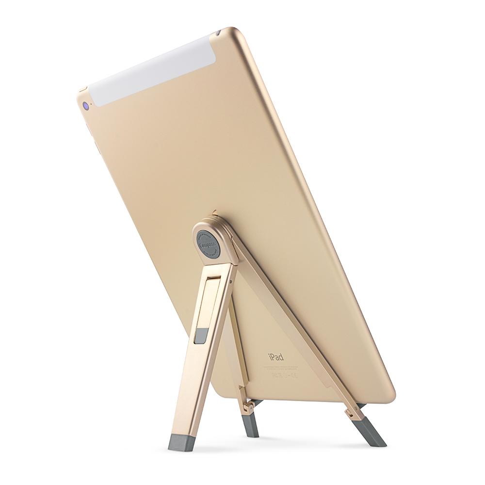 Twelve South│Compass 2 立架 - 適用 iPad 與各種行動裝置產品 (金色)
