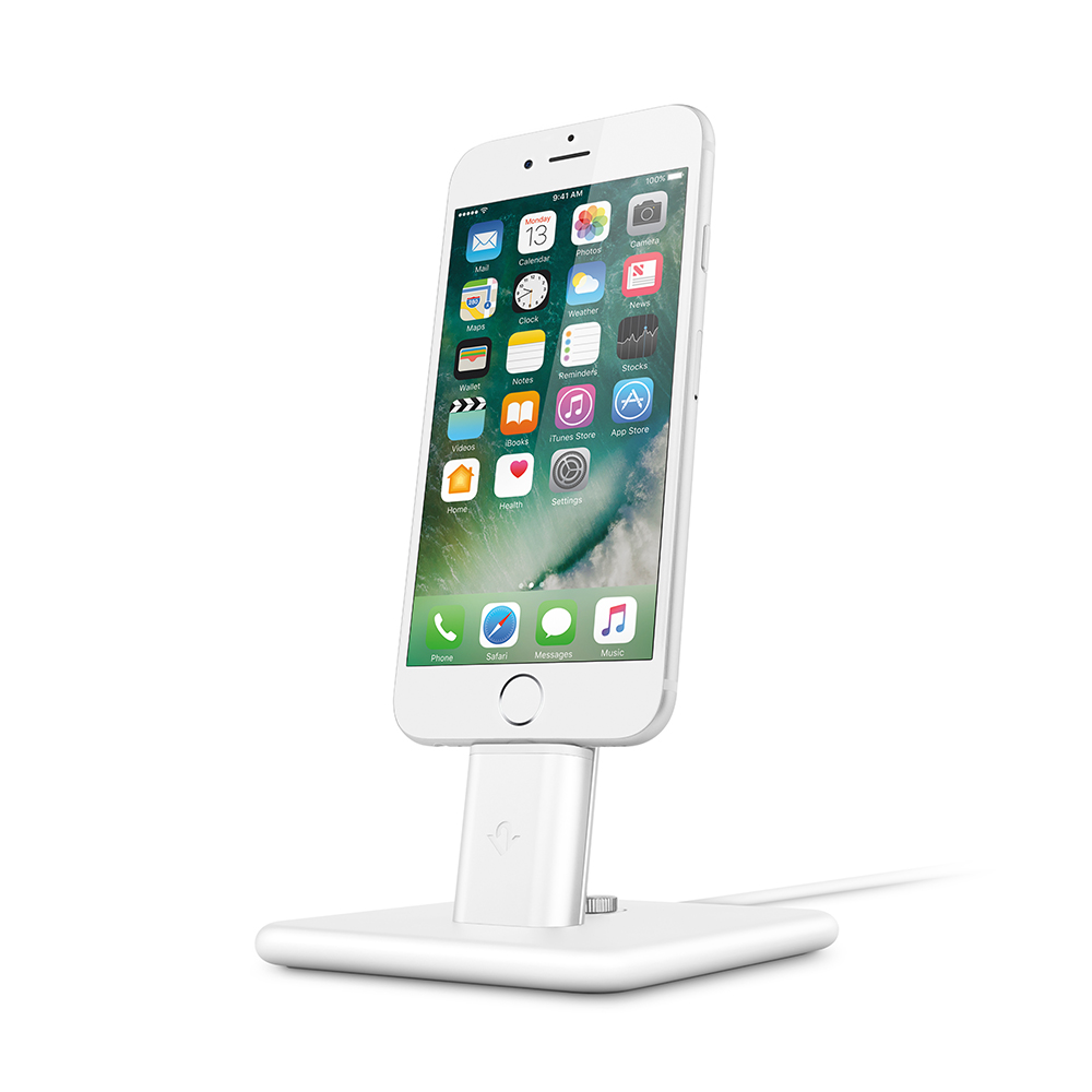 Twelve South|HiRise Deluxe 2 iPhone 充電立架 -白色 (12-1628)