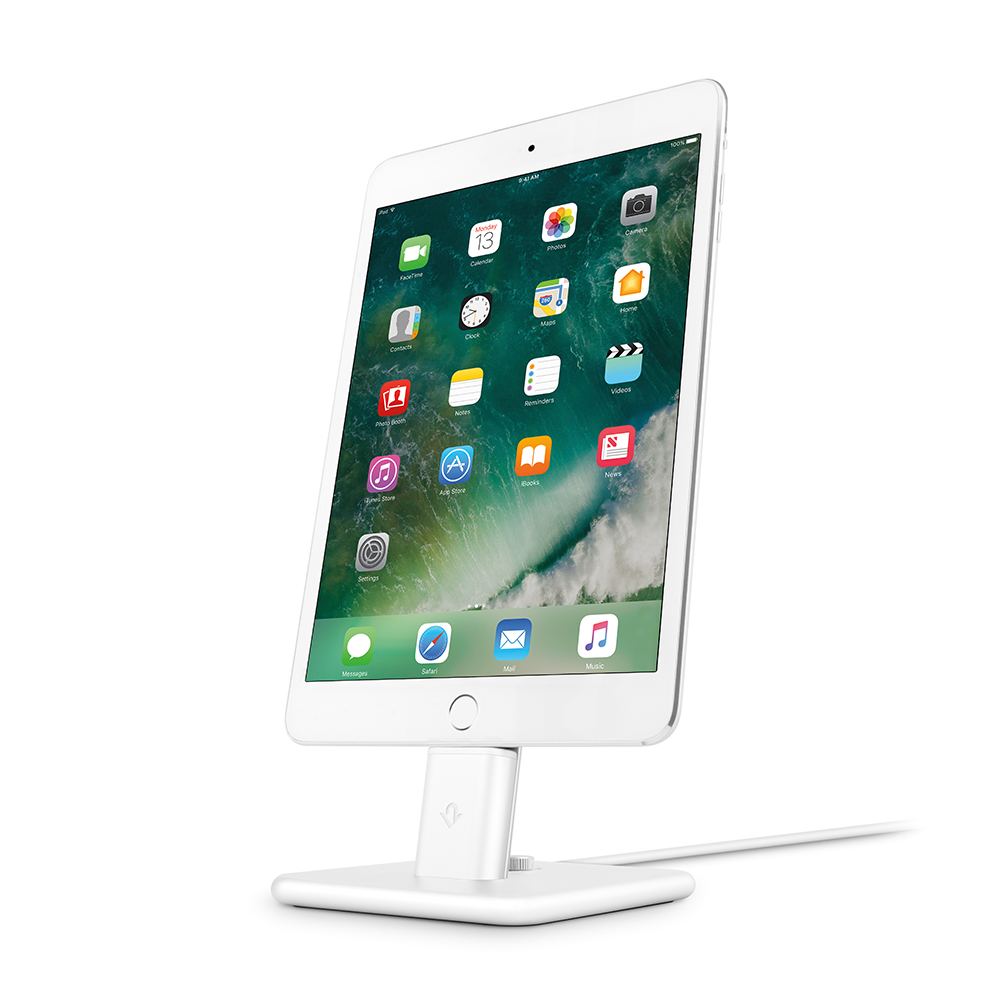 Twelve South|HiRise Deluxe 2 iPhone 充電立架 - 白色