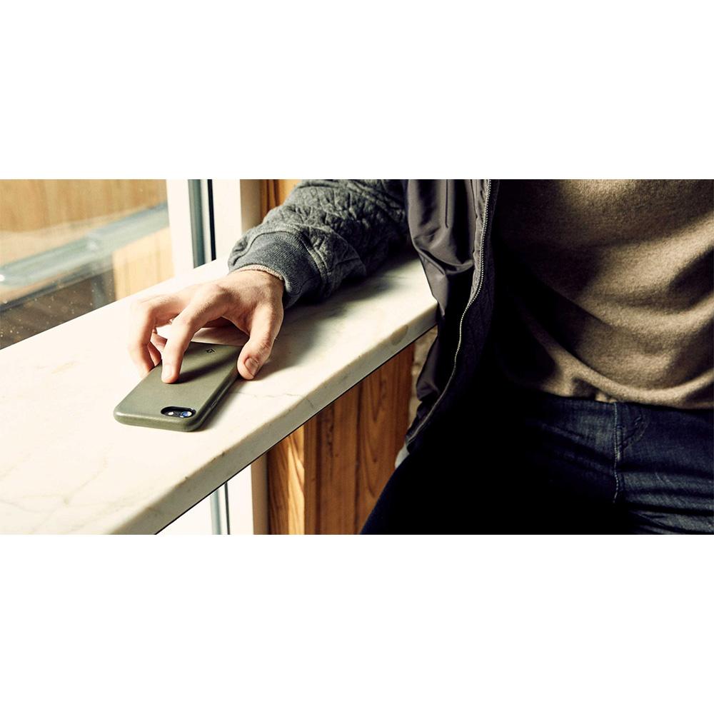 Twelve South|Relaxed Leather iPhone 8 皮革保護背蓋(干邑棕)