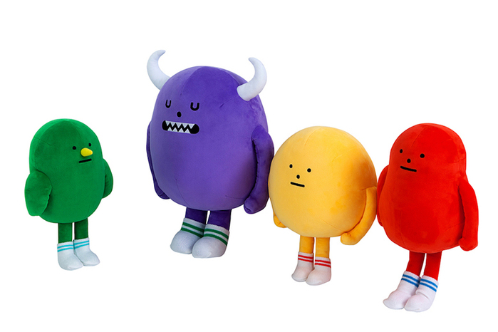 (複製)Sticky Monster Lab|聯名公仔 Smoothie Heroes 藍莓 Bluemon