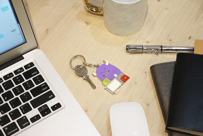 Sticky Monster Lab|SML LIFE 特製質感鑰匙圈 (單入)