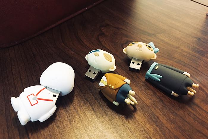 狐獴大叔 狐獴大叔系列公仔造型隨身碟 8GB