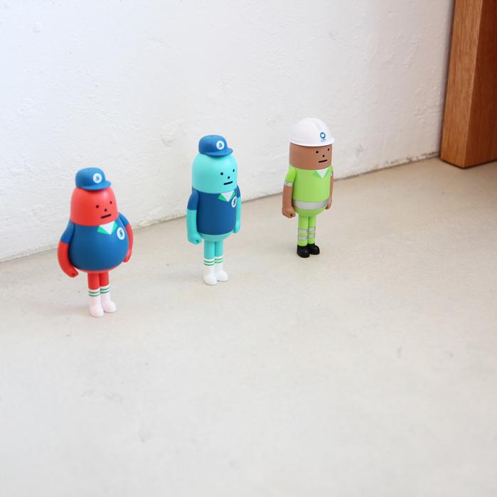 (複製)Sticky Monster Lab 上海公仔 國家公仔系列08