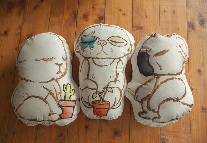 狐獴大叔|狐獴大叔系列造型抱枕