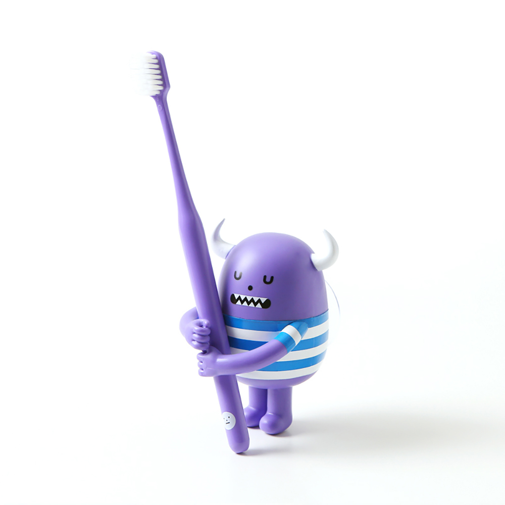 Sticky Monster Lab Bigmon 牙刷公仔組