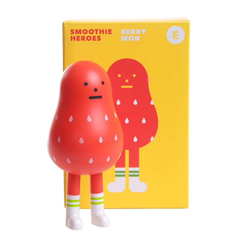 Sticky Monster Lab|聯名公仔 Smoothie Heroes 草莓 Berrymon