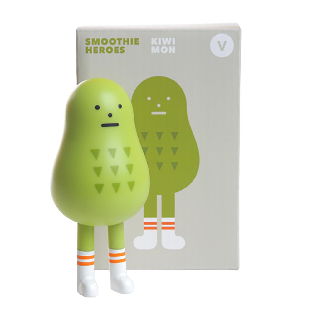 Sticky Monster Lab|聯名公仔 Smoothie Heroes 奇異果 Kiwimon