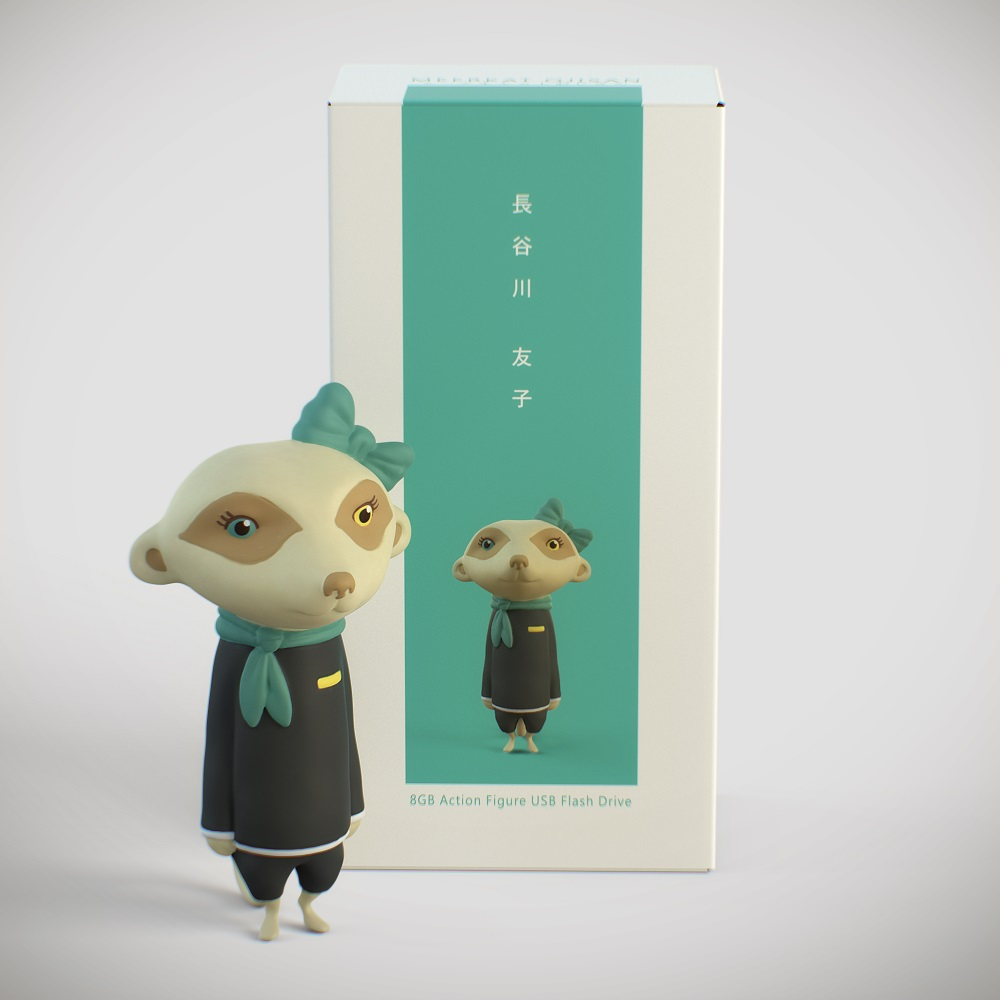 狐獴大叔 狐獴大叔系列公仔造型隨身碟 - 8GB