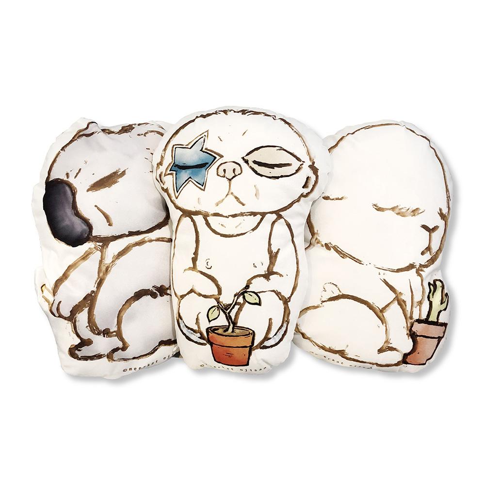狐獴大叔|狐獴大叔吃土系列造型抱枕