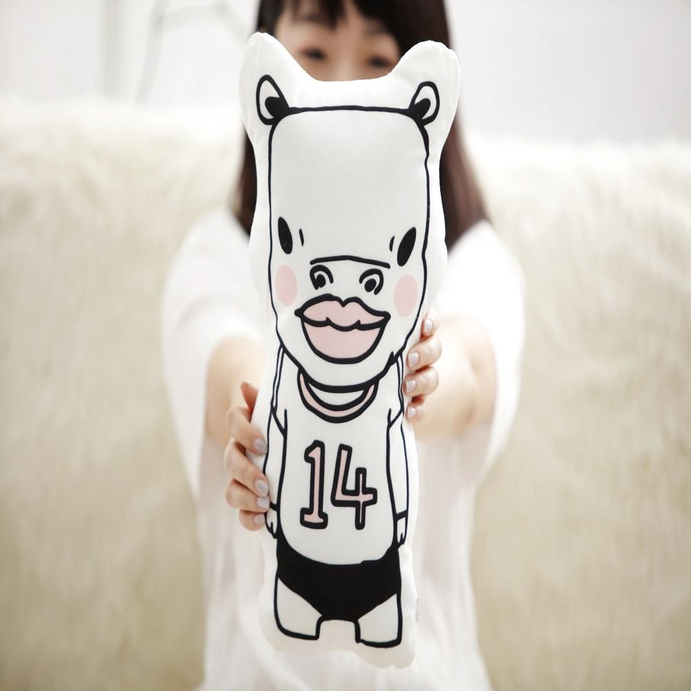醜醜動物園 醜動物造型抱枕 (六款)