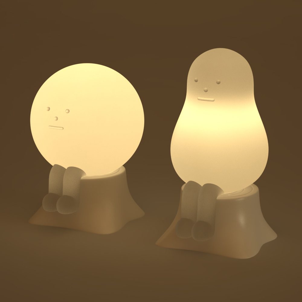 【集購】Sticky Monster Lab|BABY LAMP 黏黏怪小夜燈(兩款任選)