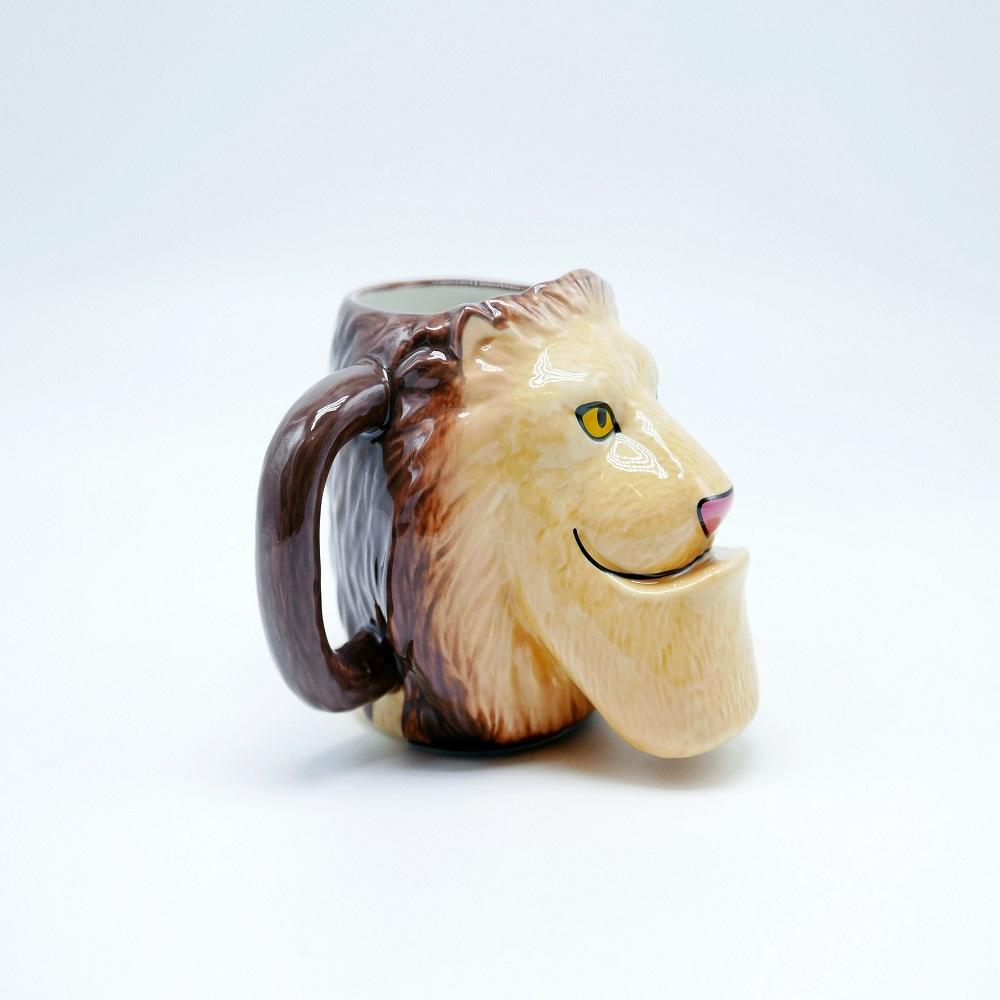 戽斗星球 |造型馬克杯| 獅子款