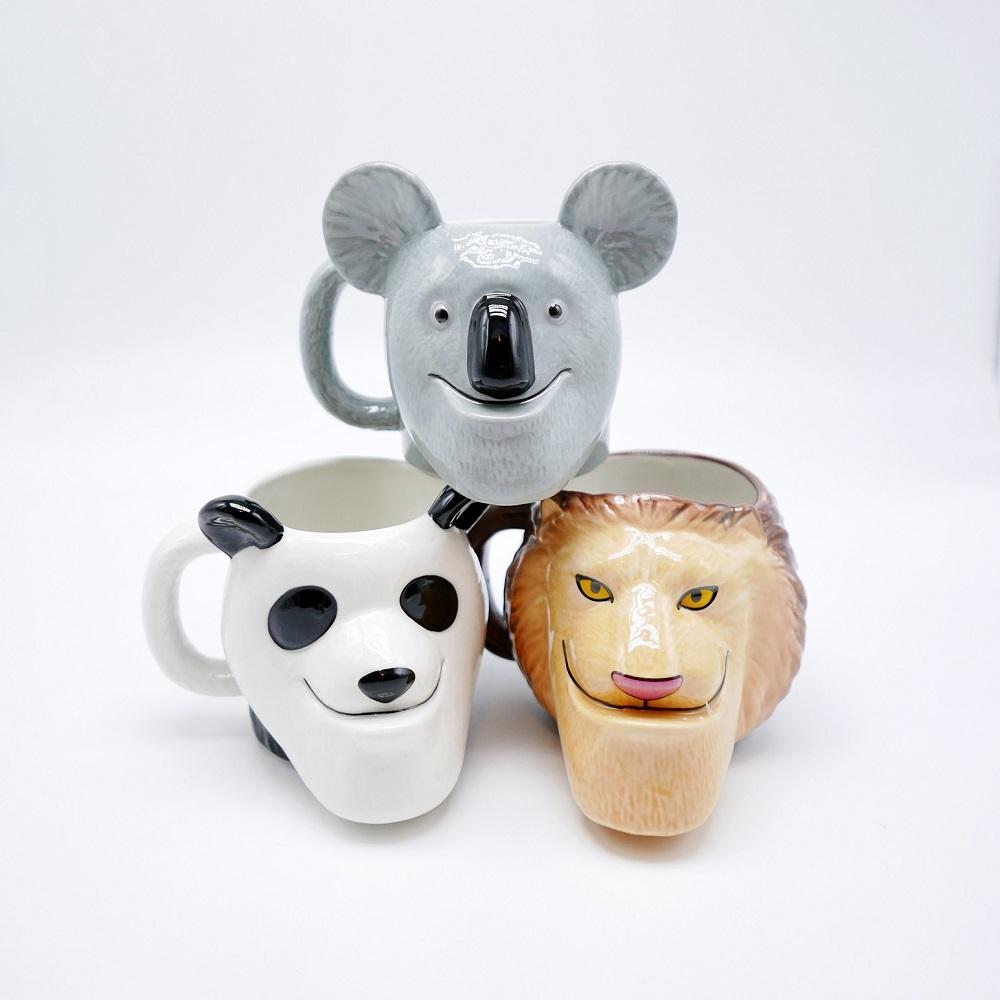 戽斗星球|造型馬克杯|貓熊款