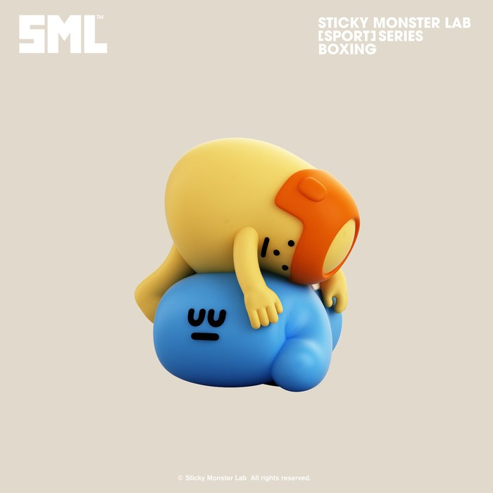 Sticky Monster Lab|SPORT SERIES 運動系列公仔- 盲盒 (隨機出貨)