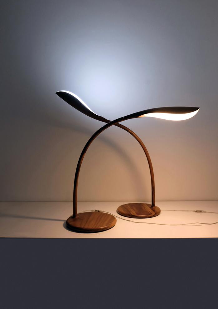 HORGAN|ECO-BUD Lamp(胡桃木)