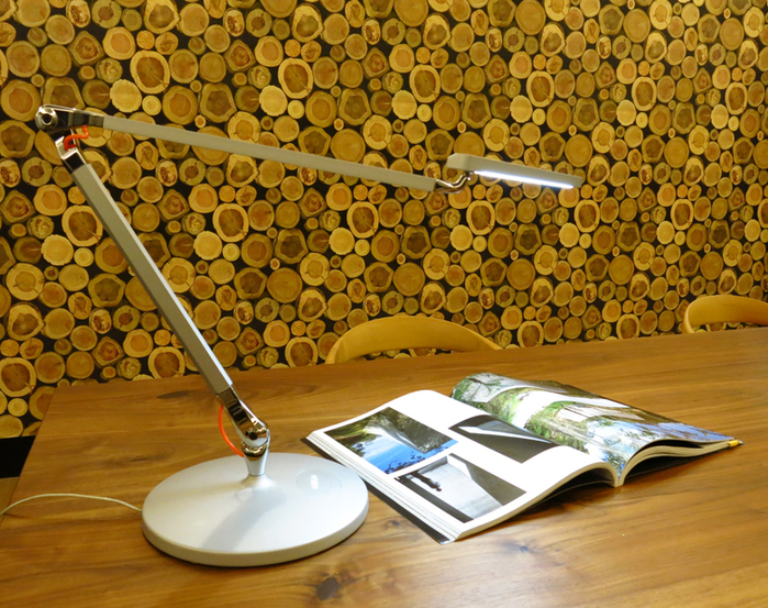 HORGAN|TANGO Table Lamp(白/黑/銀/紅)