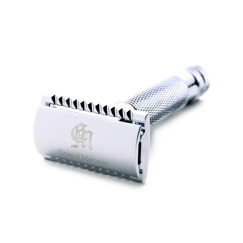Grand Manner|特務系列雙刃安全刮鬍刀(銀)