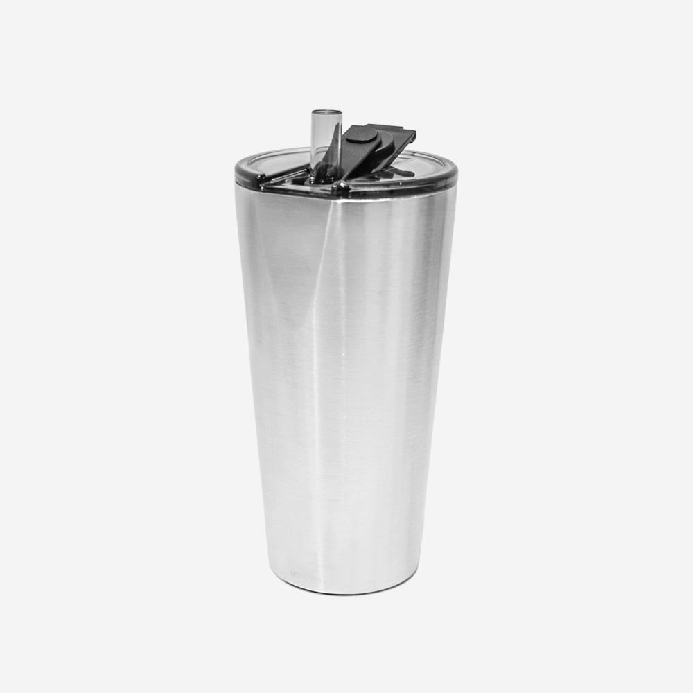源源鋼藝 uanuan|Hiding 飲料杯 + 柳丁黑提袋 (雙入組合)