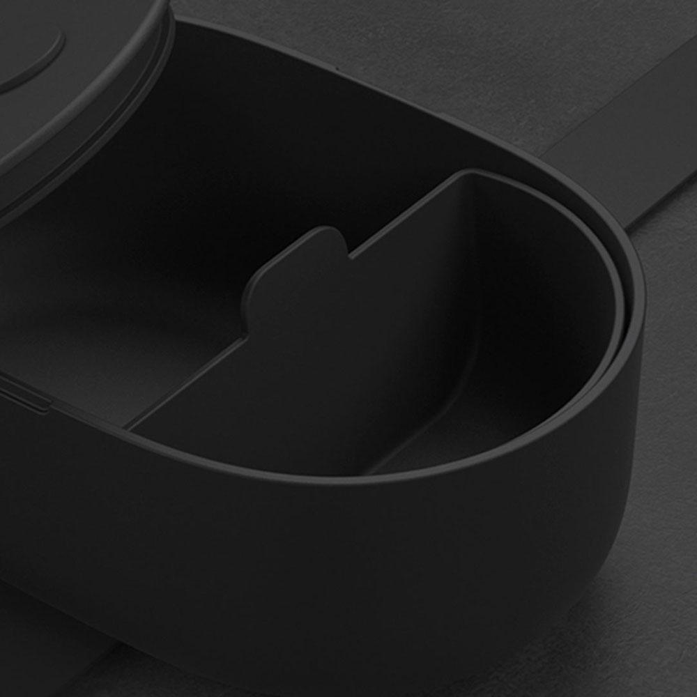 源源鋼藝 uanuan|Bendong Light 便當盒(經典黑)+承食包組合