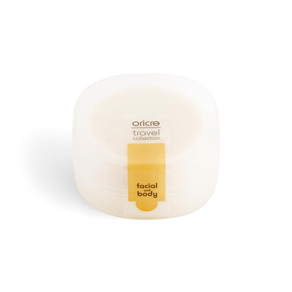 oricre歐瑞克|隨行皂盒超值組─沐浴專用 (香草牛奶糖)