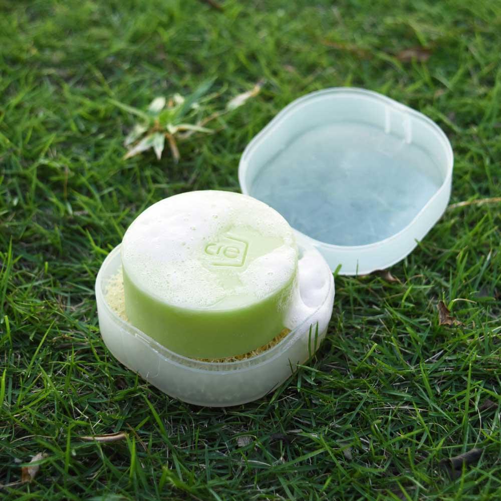 oricre歐瑞克|隨行皂盒超值組─衣碗清潔專用 (尤加利佛手柑)