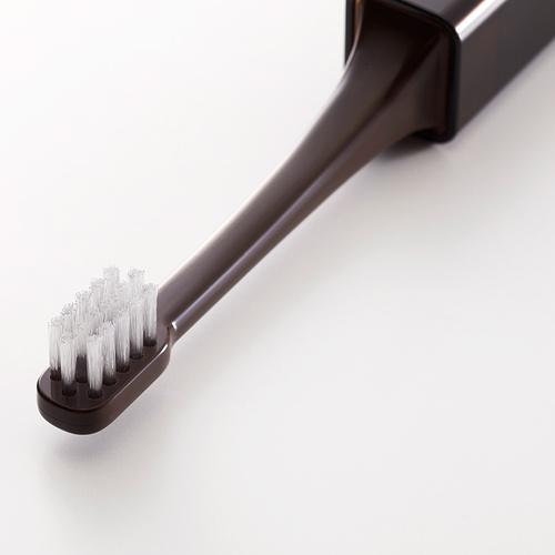 MISOKA │ 旅行款頂級免沾牙膏牙刷 (日本製 / 棕色)