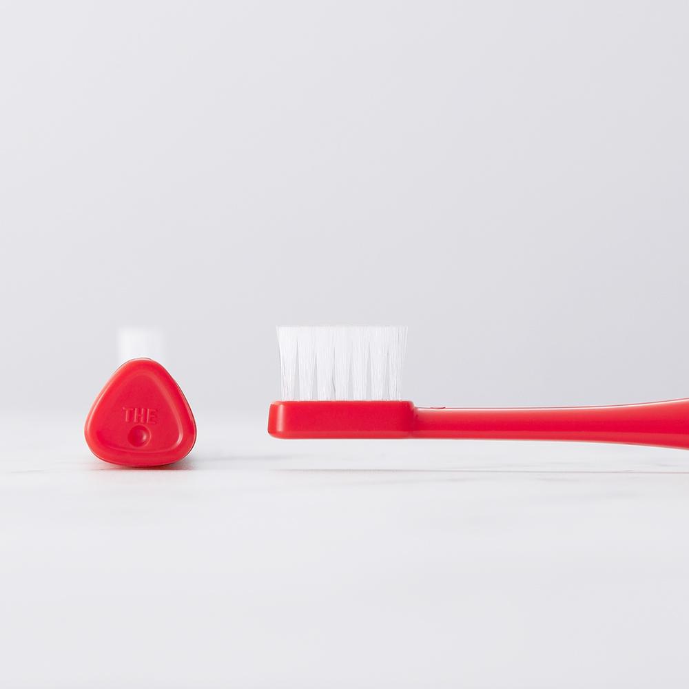 MISOKA │ THE TOOTHBRUSH 免牙膏可立式牙刷 (日本製 / 紅色)