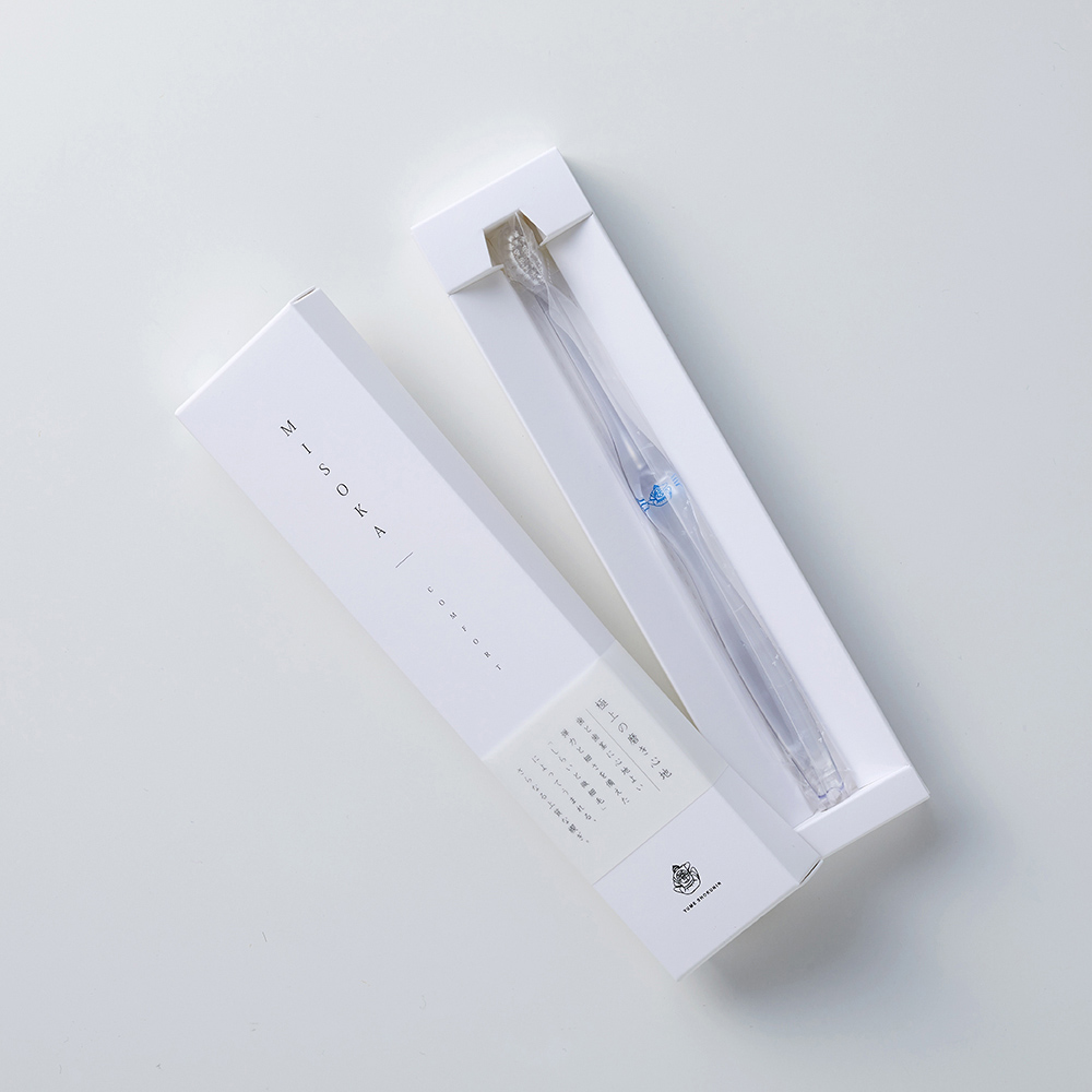 MISOKA │  COMFORT 軟毛款頂級免沾牙膏牙刷 (日本製 / 藍色 / 成人)