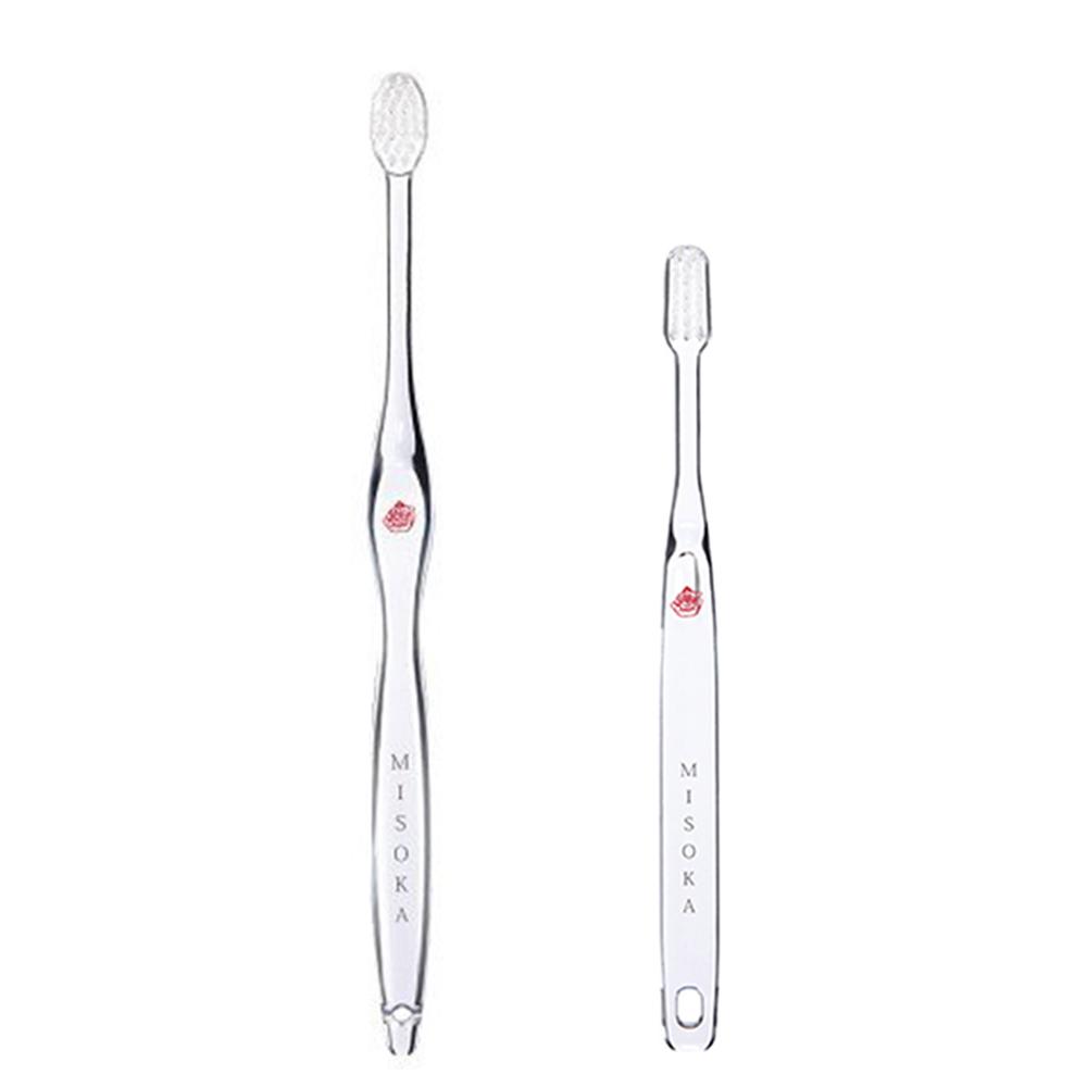 MISOKA │  COMFORT 軟毛款頂級免沾牙膏牙刷 (日本製 / 朱色 / 兒童)