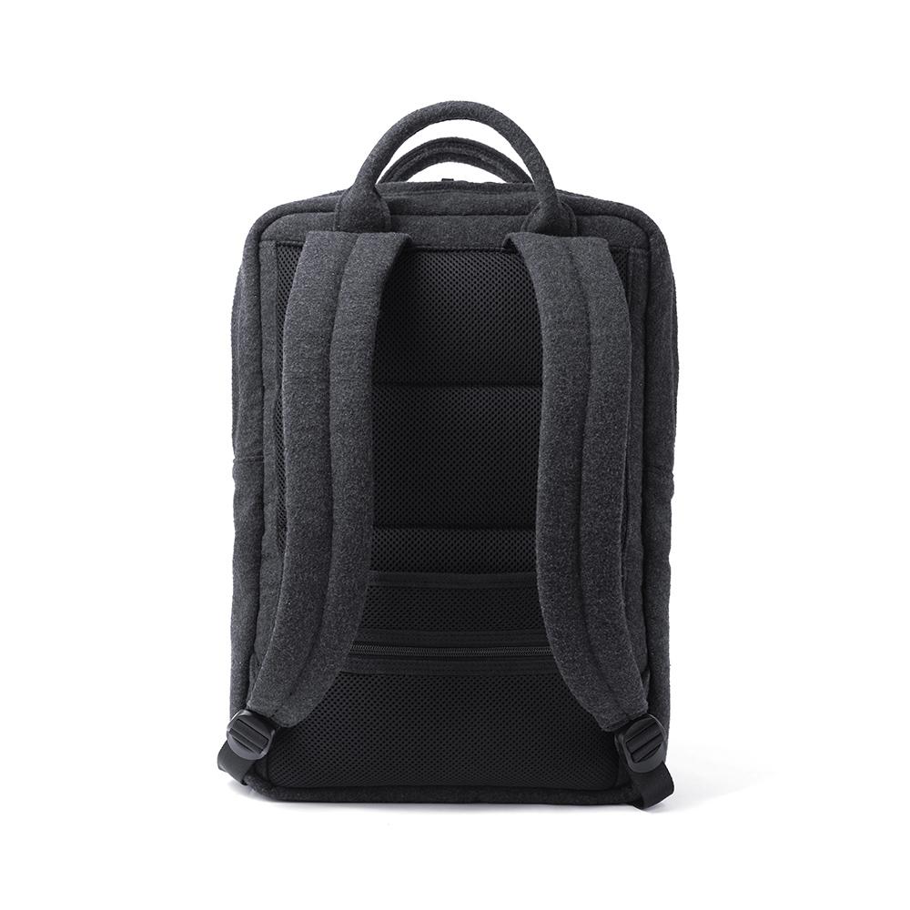 胡椒鹽 PEPPER&SALT│毛呢POLO 15吋筆電後背包