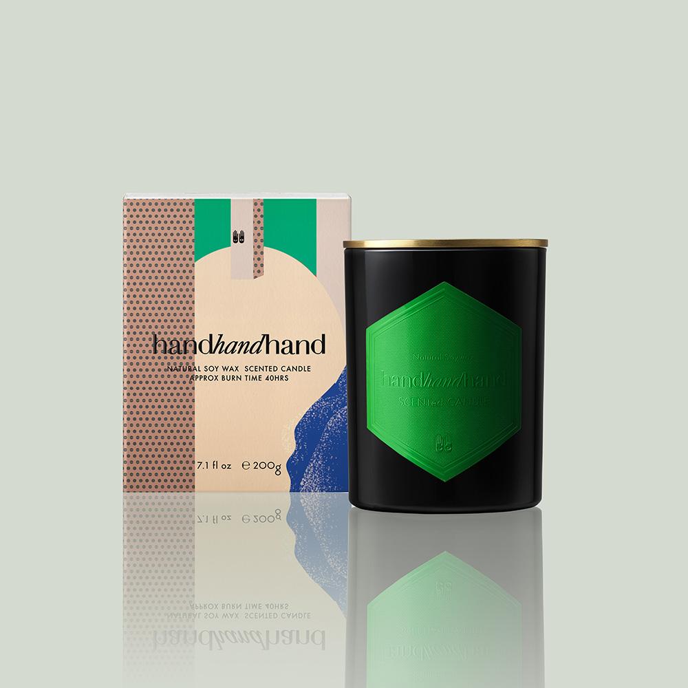 handhandhand|HHH香氛精油大蠟燭節慶版 (夜來香 / 含銅蓋)