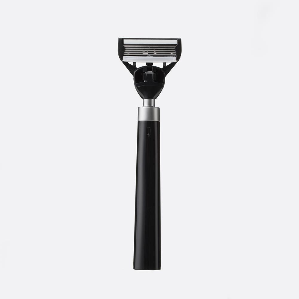 bläk|blak經典刮鬍刀(極致黑)