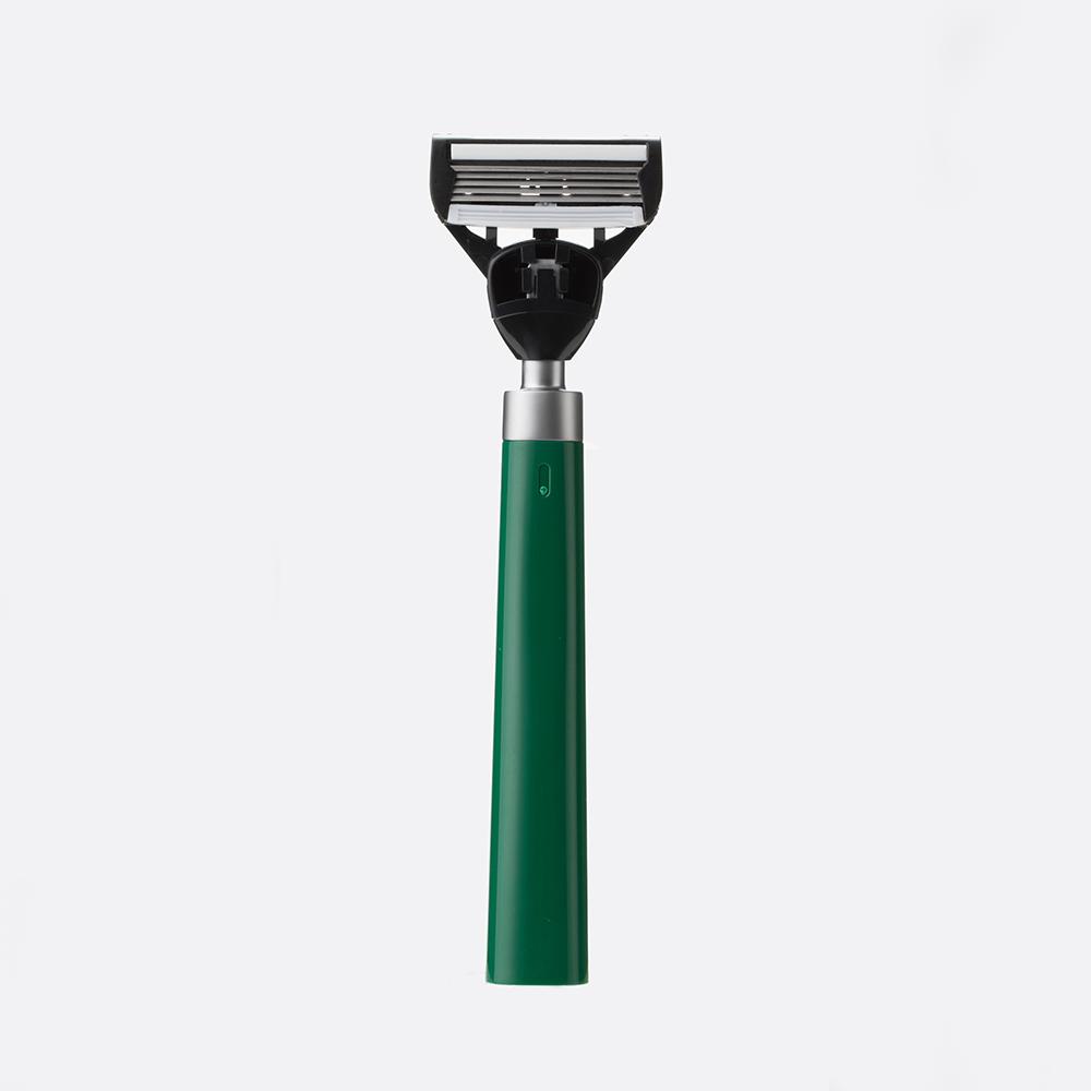 bläk|blak經典刮鬍刀(迷霧綠)