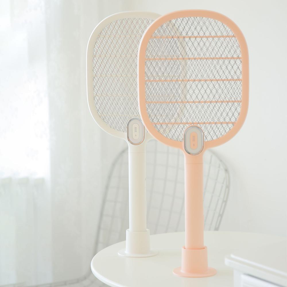 無印風 | 輕量純色 LED小文電蚊拍
